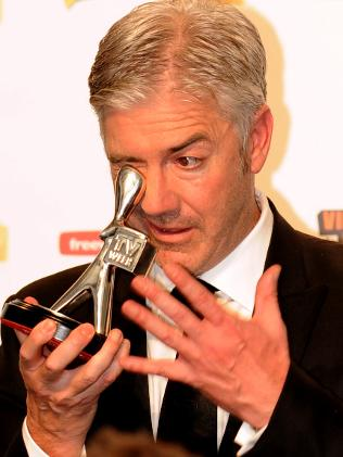 Shaun with his 2010 Logie