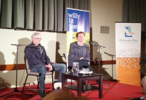 Shaun and Francis at The Willy Lit Fest