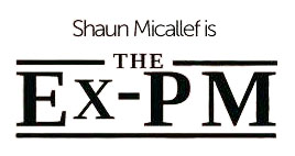 The Ex-PM logo