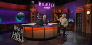 Mad As Hell S3E1: Micallef Tonight sign